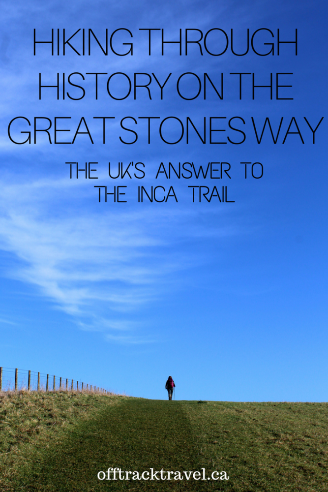 Hiking through History on the Great Stones Way -