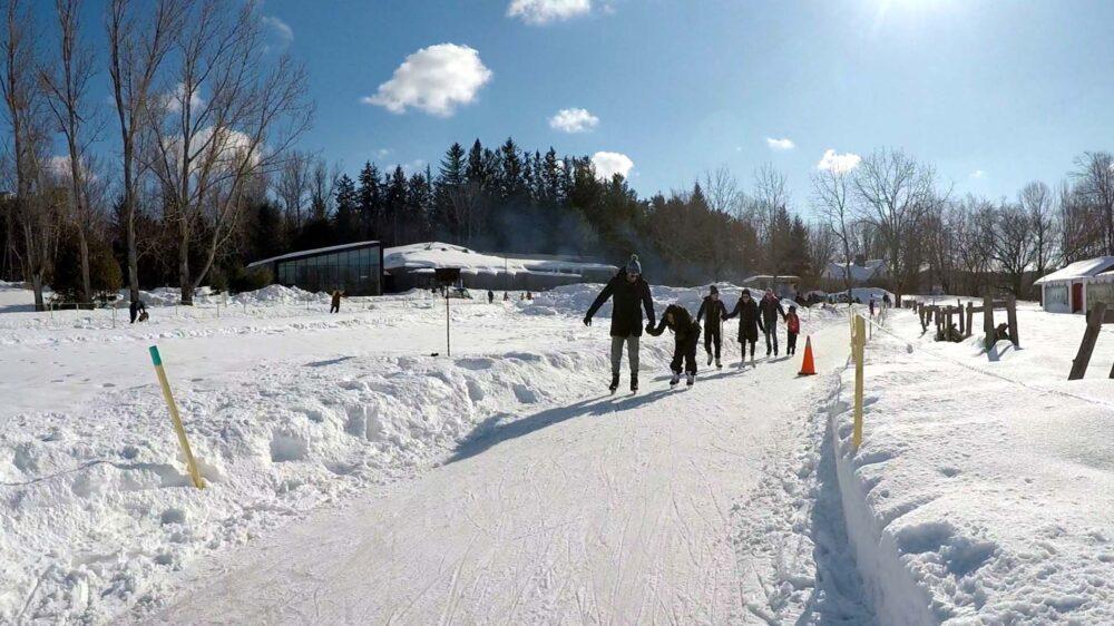 10 Ways to Explore Canada's Winter Wonderland - ice skating