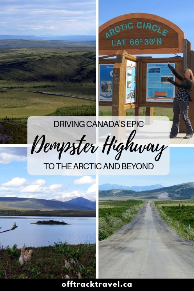 The Dempster Highway offers one of the best road trips in the world. Click here to read everything you need to know so you can take on this amazing adventure yourself! offtracktravel.ca