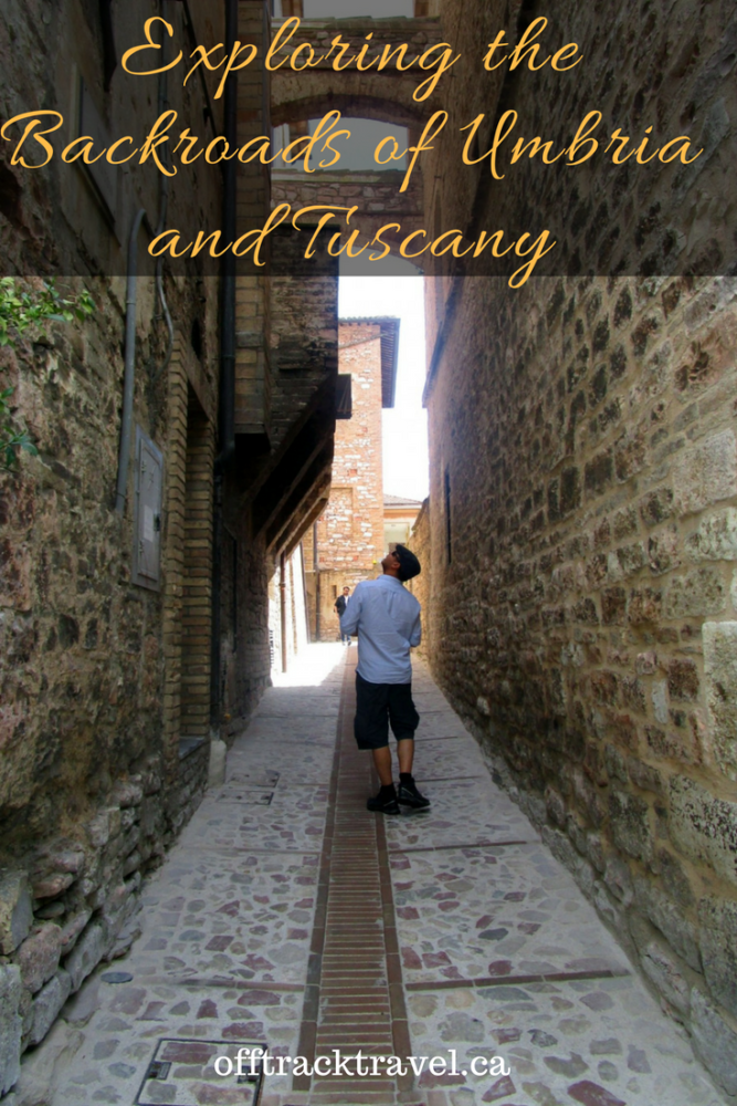 Exploring the Backroads of Umbria and Tuscany