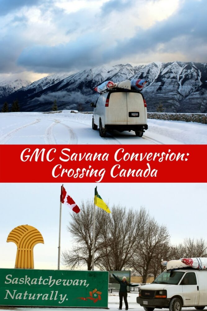 GMC Savana Camper Conversion Update 4: Crossing Canada in Winter! Also featuring the trials and tribulations of legally transferring a vehicle from British Columbia to New Brunswick. Spoiler: it wasn't fun. offtracktravel.ca