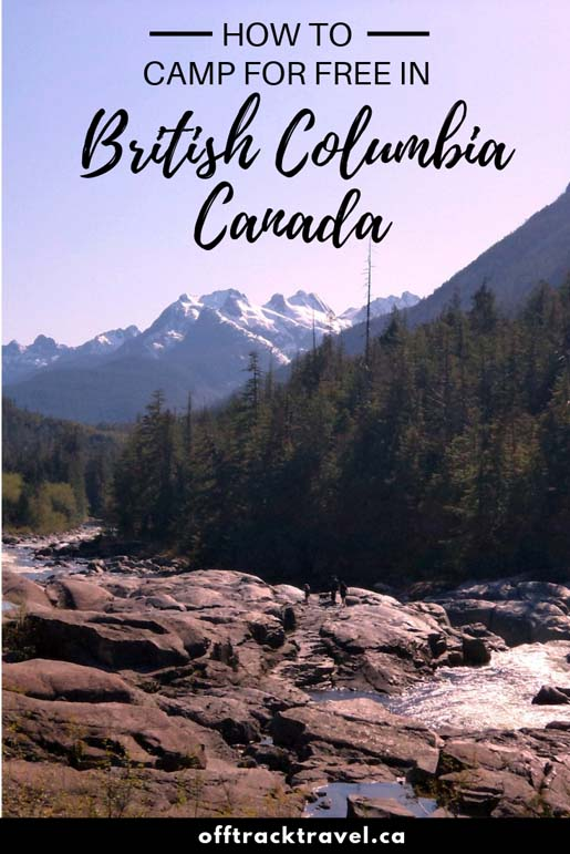 Did you know that British Columbia is home to hundreds of completely free and legal campsites? Click here to learn everything you need to know to find them! offtracktravel.ca