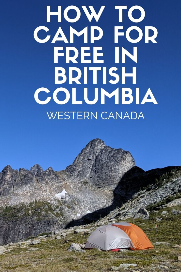 How to Camp for Free in British Columbia - There are hundreds (in fact, thousands) of completely free campsites available to use all over British Columbia. Here's my guide to finding them! It's easy, trust me - offtracktravel.ca