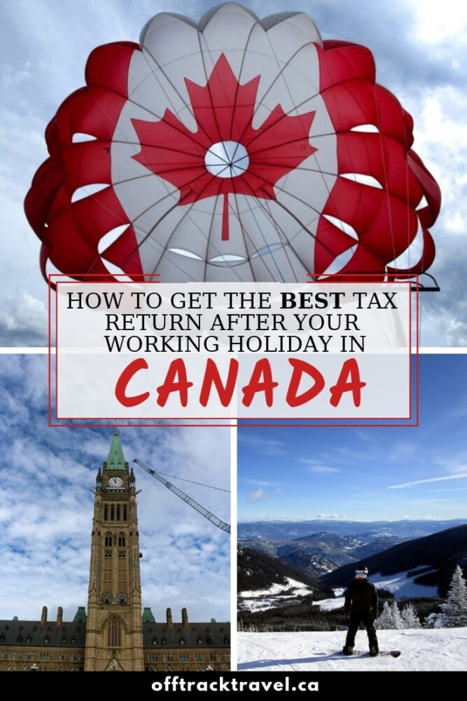 Click here to learn everything you need to know about filing a tax return in Canada after a working holiday! offtracktravel.ca