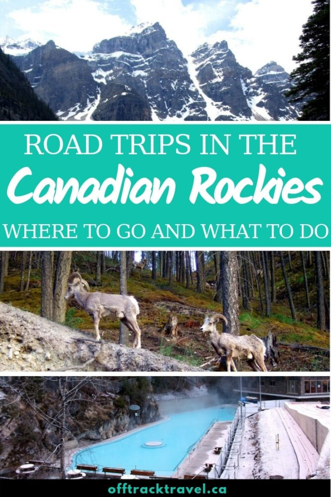 Take a road trip through the Canadian Rockies and fully appreciate all nature has to offer! Click to read trip advice plus tips to avoid the crowds and get off the beaten path! offtracktravel.ca