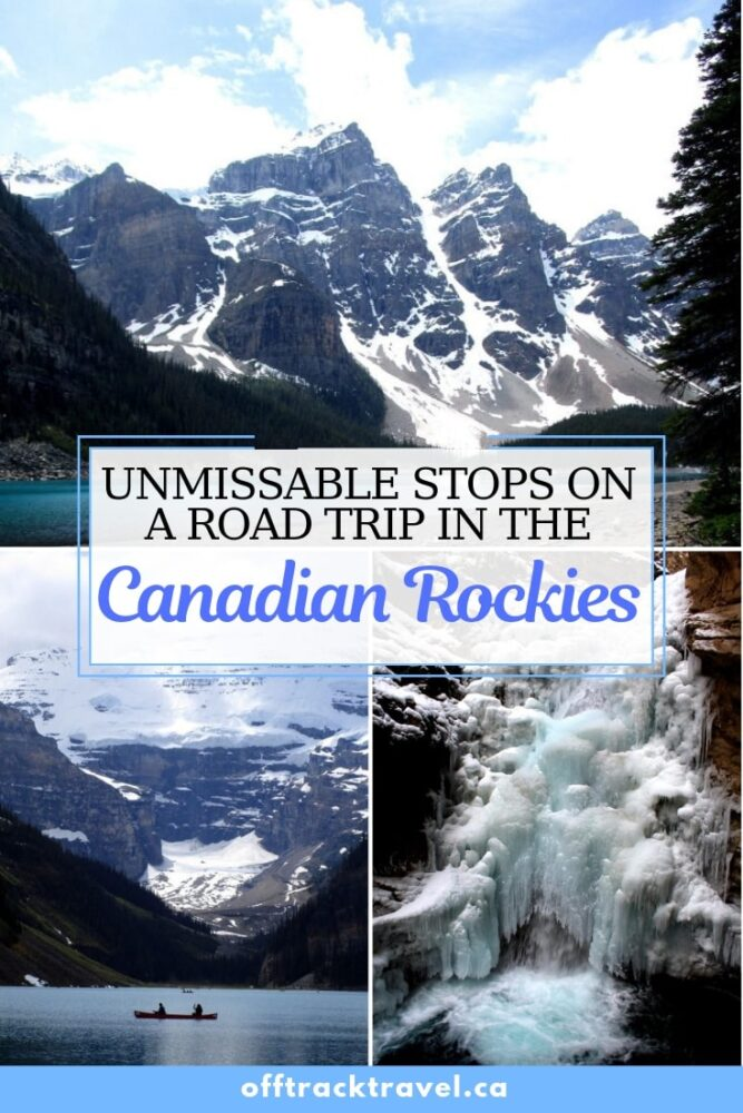 A road trip is the best way to see the beauty of the Canadian Rockies. Click here to discover insider tips and advice on road tripping in the Canadian Rockies! offtracktravel.ca