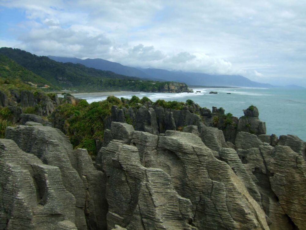 Pancake Rocks - New zealand Working Holiday guide