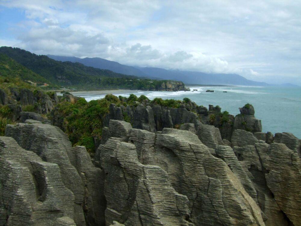 Pancake Rocks - New zealand Working Holiday guide