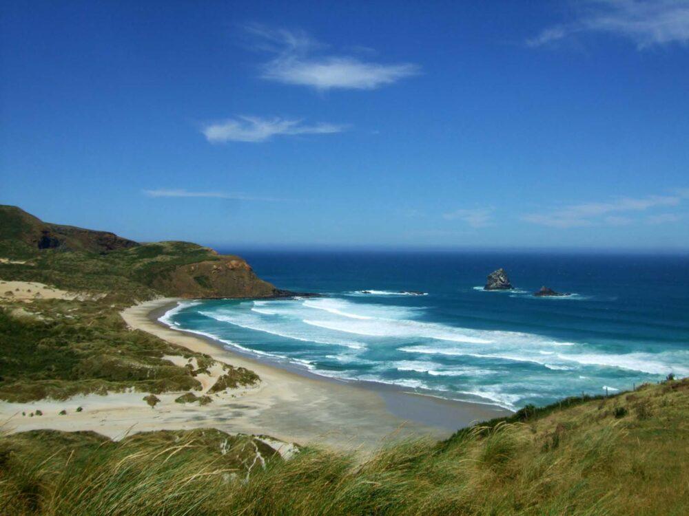 New Zealand Working Holiday Travel Insurance - Southern Otago beach