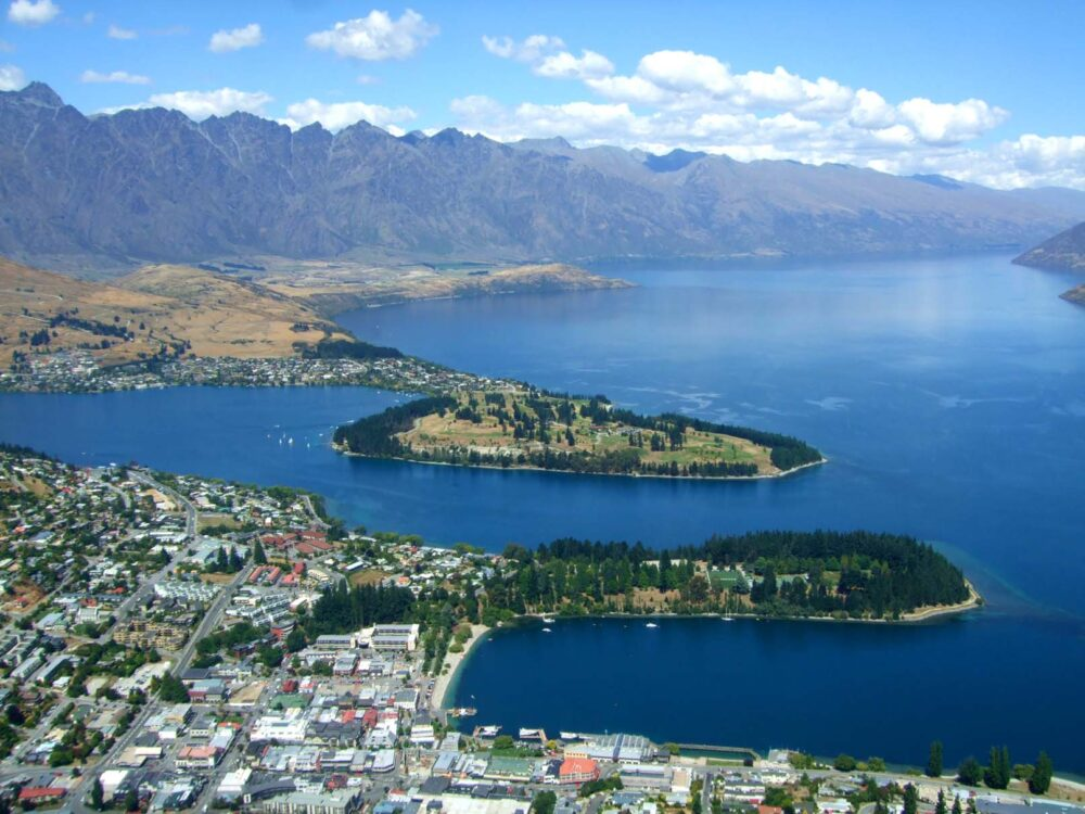 View of Queenstown - New Zealand Working Holiday Guide