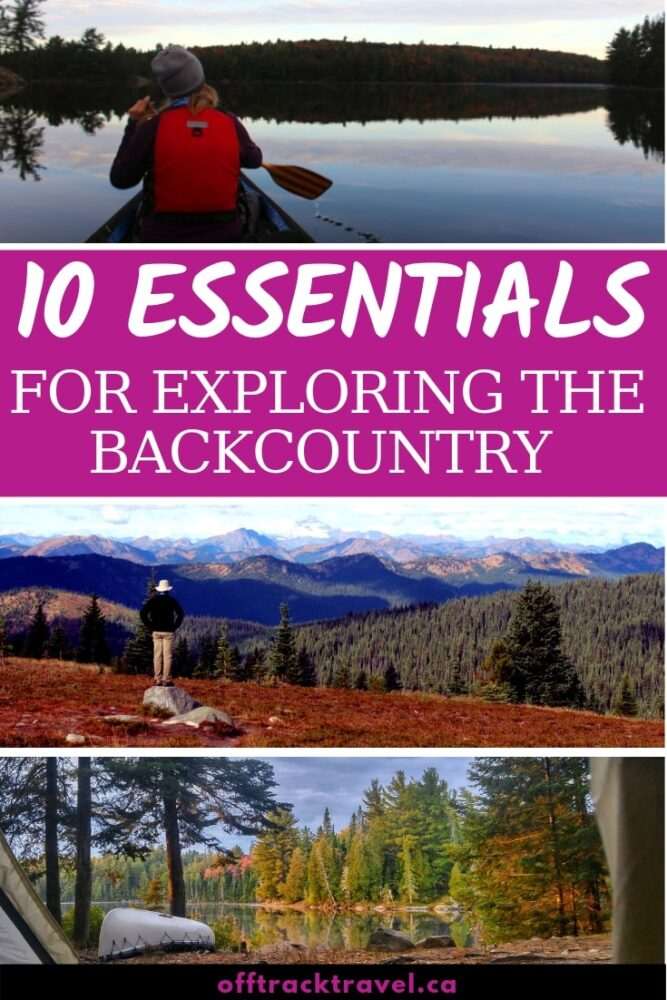 Whether you're starting a week-long hike in the mountains or want to explore a 6km long trail near the highway, click here to discover all of the essential items you should be carrying. Be safe, not sorry! offtracktravel.ca