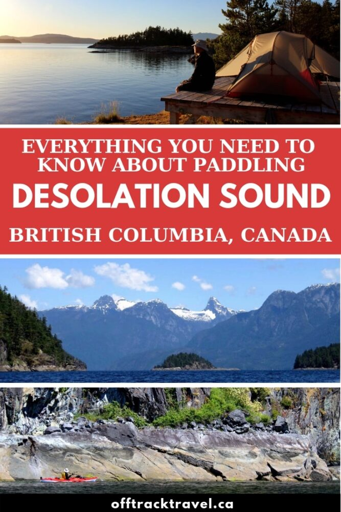Incredible scenic views, easy paddling, warm waters, bountiful wildlife and lots of campsites make Desolation Sound one of the best places in Canada to go paddling! Click here to discover the magic of Desolation Sound plus a complete guide to going on a paddling trip in this beautiful area. offtracktravel.ca