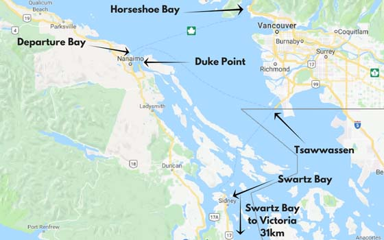 How to Get to Vancouver Island - ferries from mainland BC