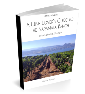 Naramata wineries guide - eBook front cover
