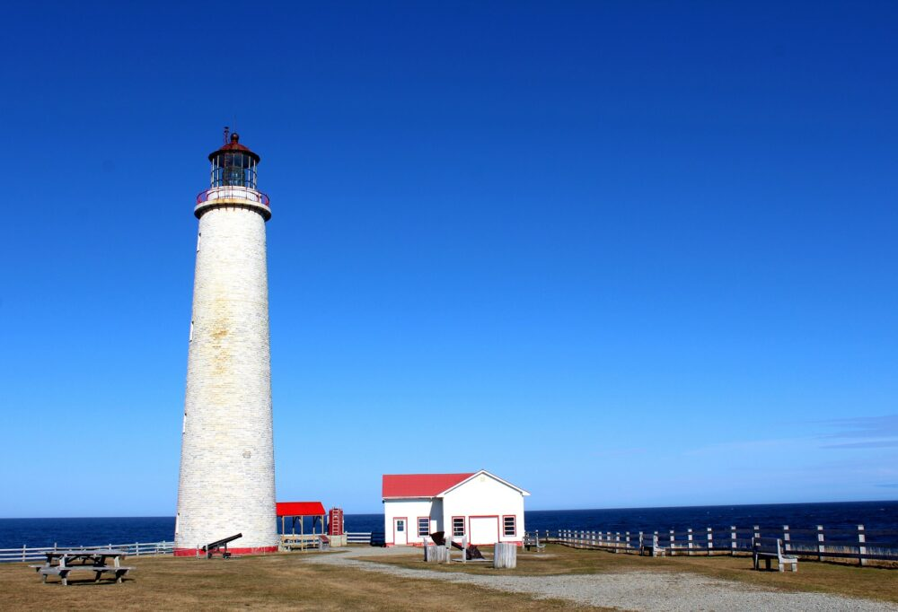 Cap-des-Rosiers Lighthouse, Gaspesie, Quebec