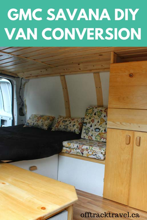 The details of our GMC Savana DIY Van Conversion