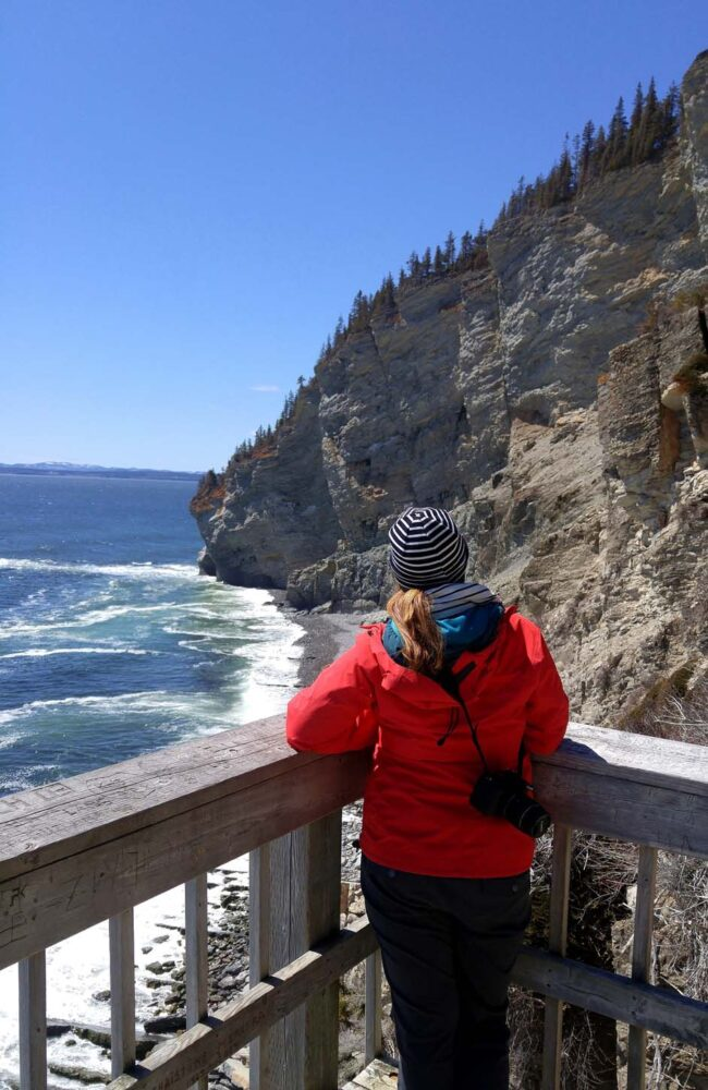 Cap Gaspe Lookout in Forillon National Park
