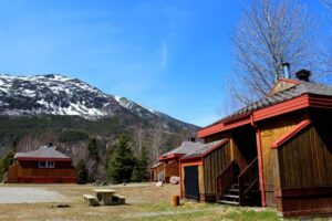 hut accommodation gaspe national park camping, quebec parks