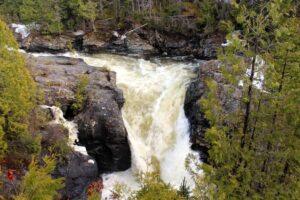 la chute saint anne quebec gaspesie national park