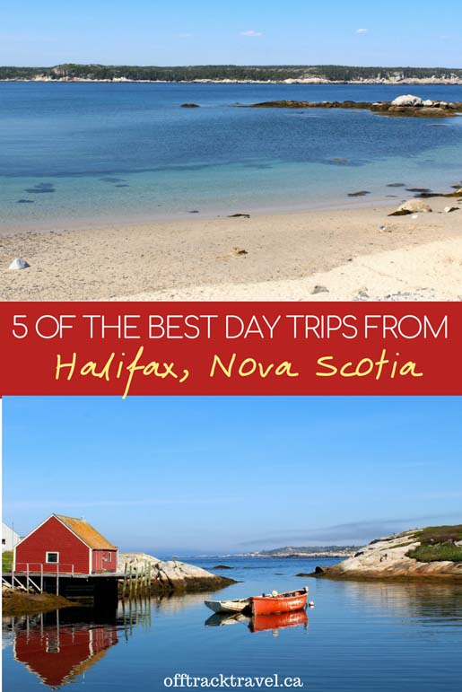 From wineries and museums to windswept beaches and fishing villages, Halifax's surrounding area has so much to offer. Click to read about five of the best day trips from Halifax, Nova Scotia! - offtracktravelca