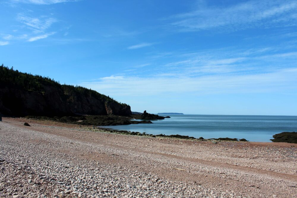 hiking cape chignecto seal cove beach