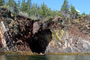 Extraordinary kayak and canoe trips include these amazing caves in Nova Scotia