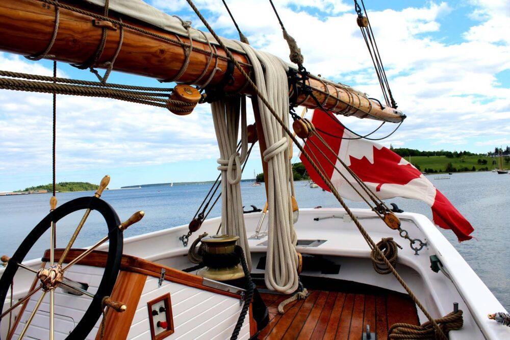 onboard bluenose ii lunenburg