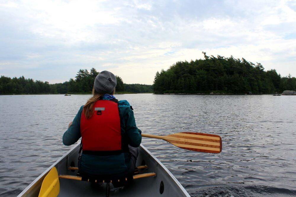 paddling kejimkujik national park canoe trip