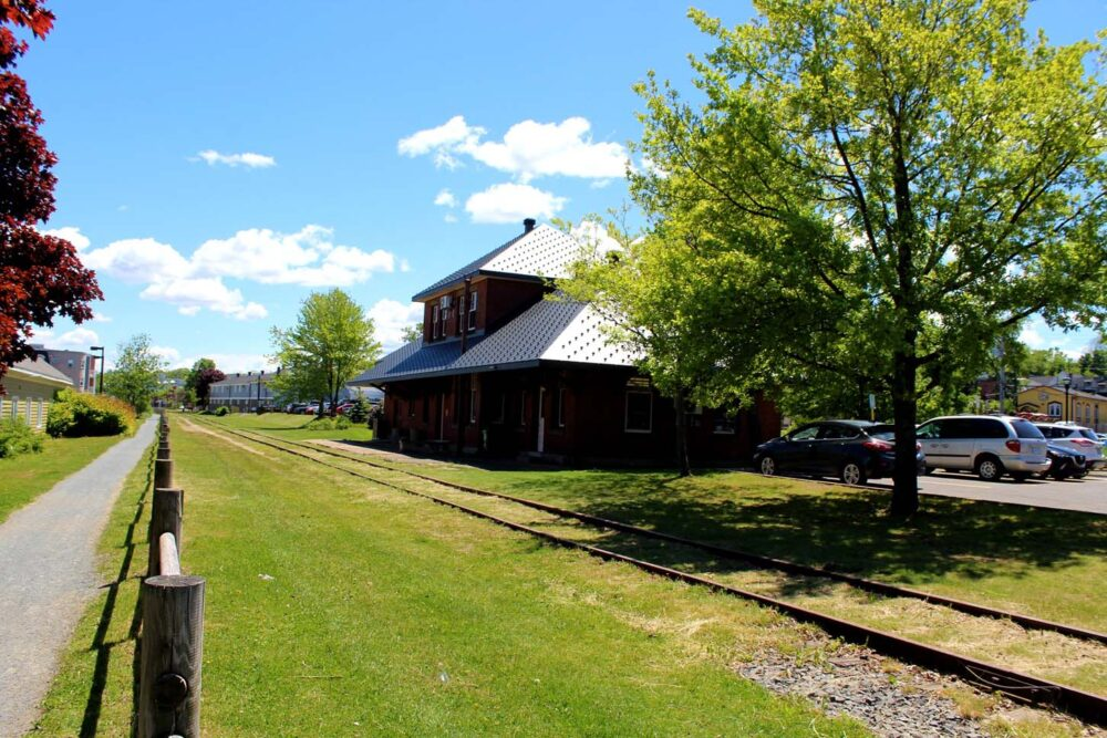 things to do in wolfville - hike the rail trail