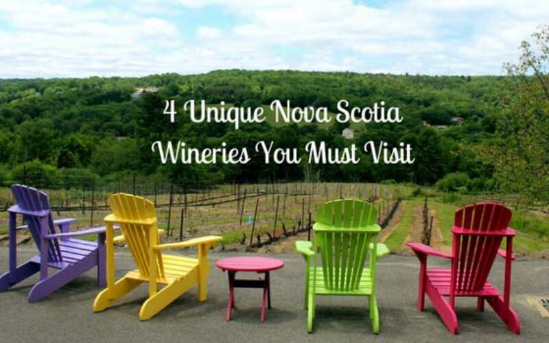 4 Unique Nova Scotia Wineries You Must Visit