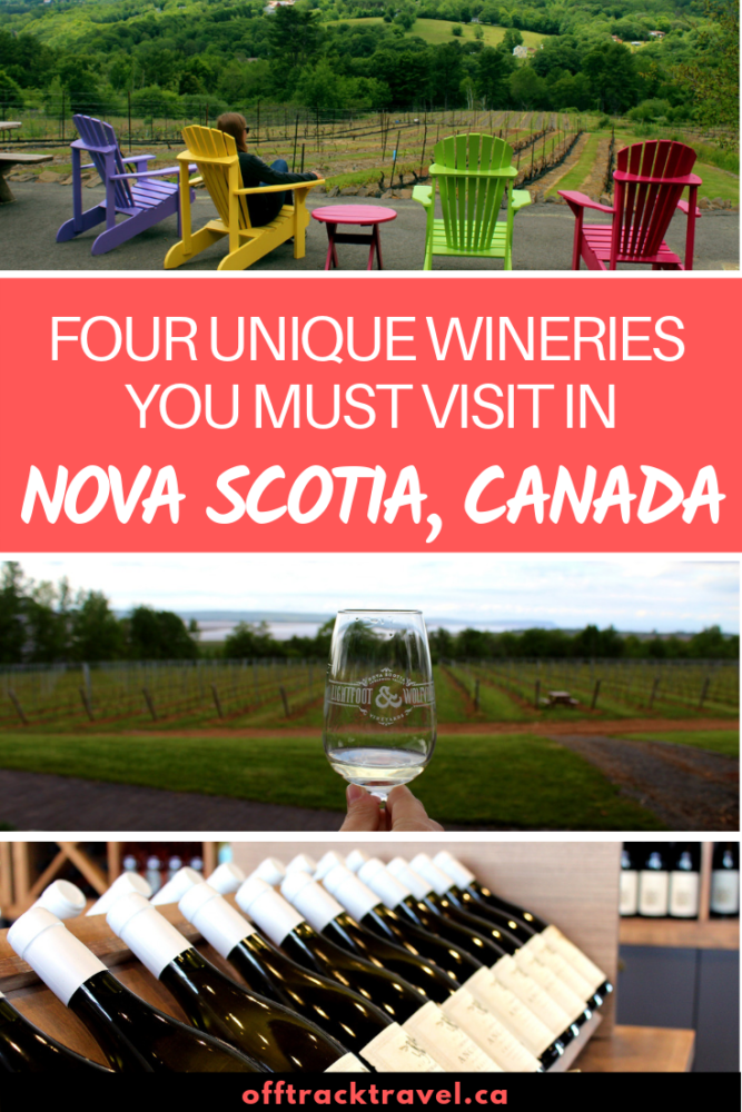 The wine industry in Nova Scotia is growing fast, with 18 wineries at last count. On our recent two-month-long Nova Scotia road trip, a number of Nova Scotia wineries especially stood out for their uniqueness. Here are our favourites! offtracktravel.ca