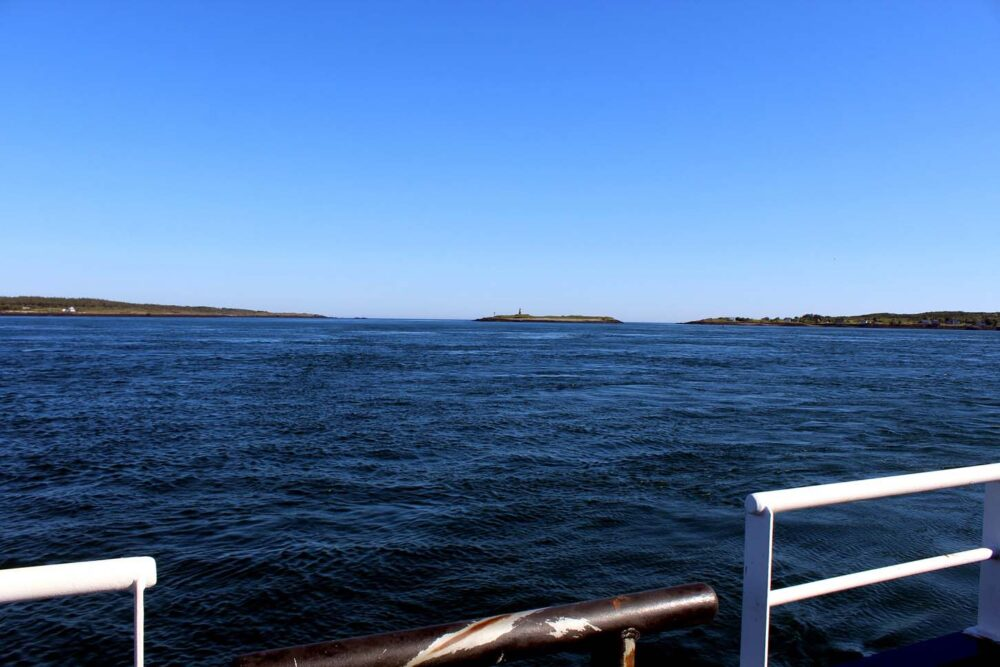 View from the ferry, Brier Island, Nova Scotia
