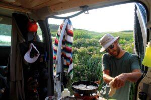 cooking in the van jr pei