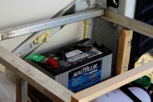 deep cycle marine battery van solar system