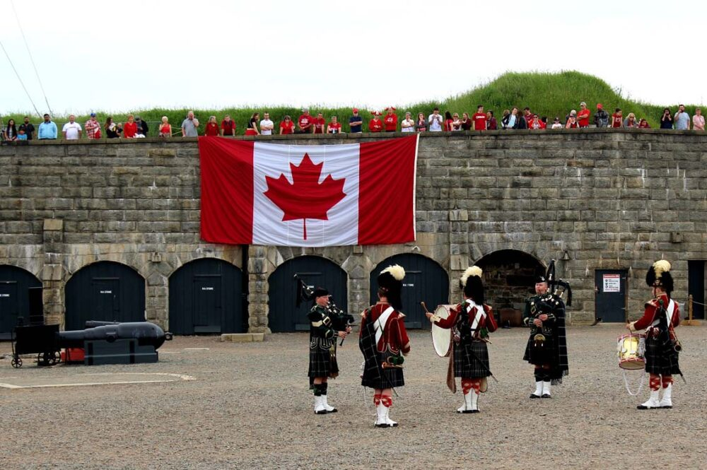 halifax canada day celebrations at the citadel