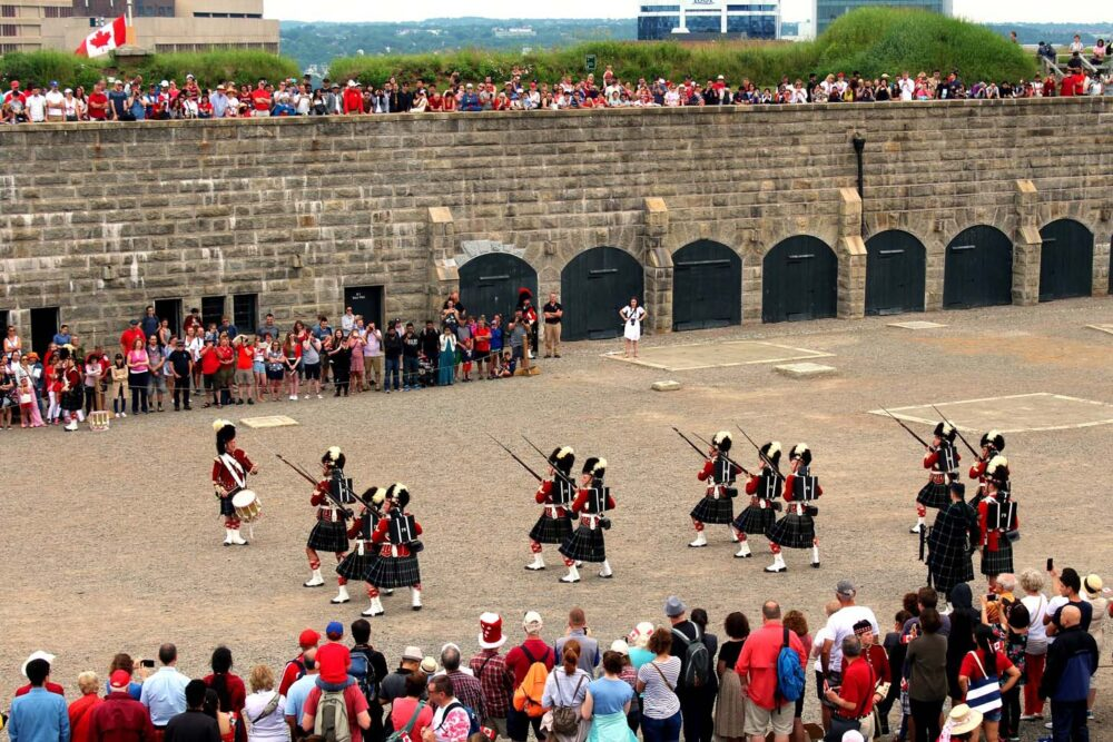 halifax citadel nova scotia canada day celebrations