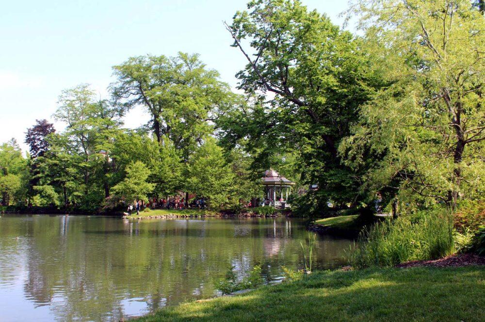 halifax public gardens canada day weekend