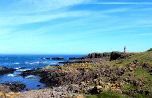 hiking the coastal trail brier island nova scotia