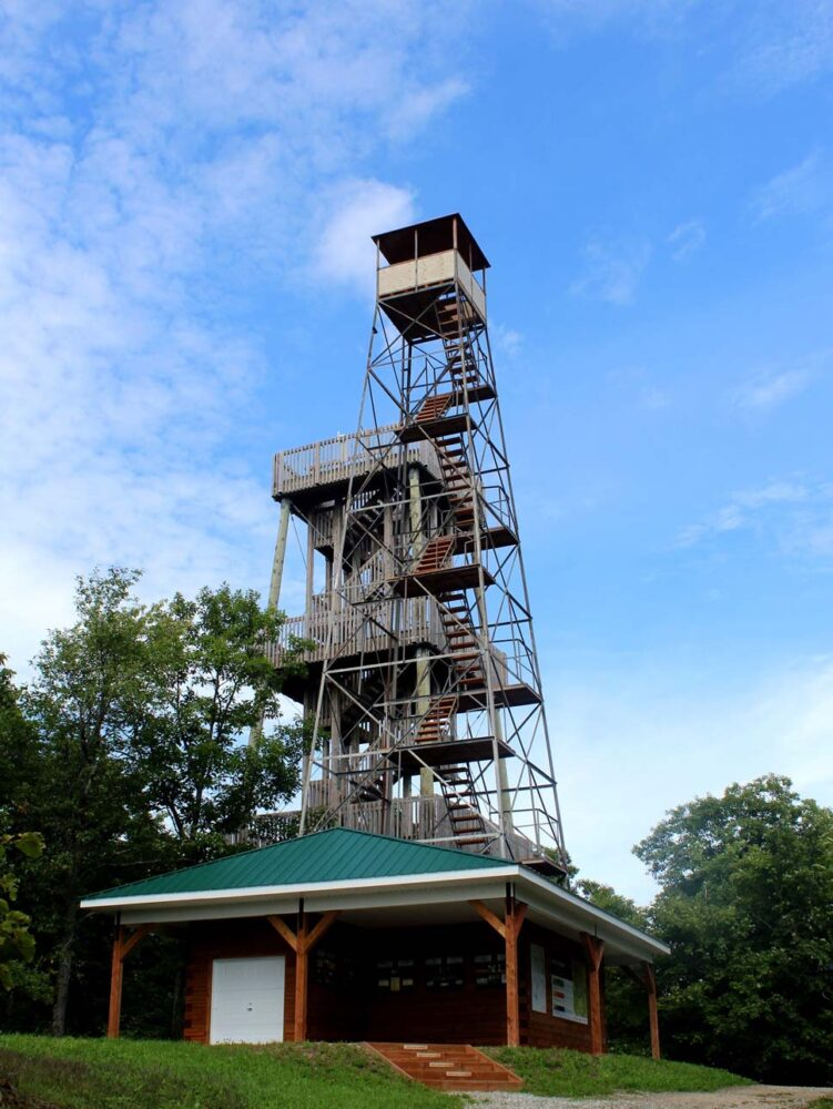 gatineau valley observation tower quebec