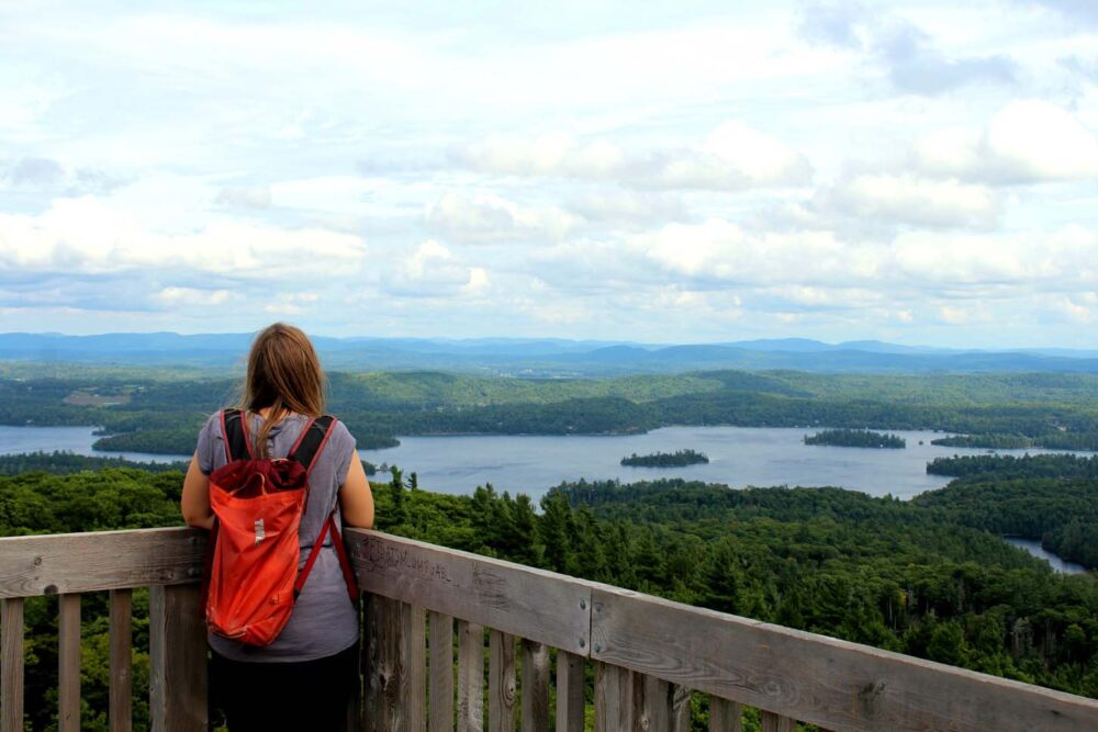 gatineau valley observation tower views