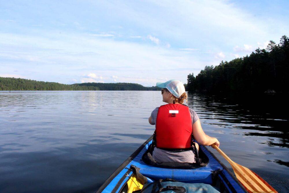 gemma canoe lac 31 milles quebec