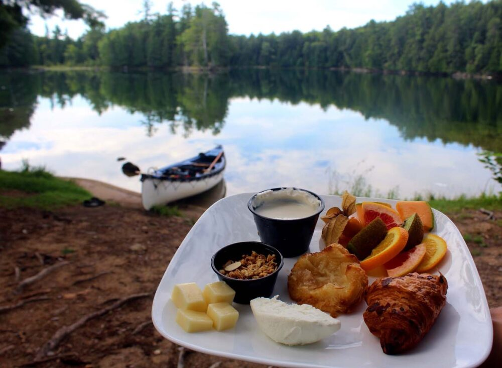 lac 31 milles quebec breakfast