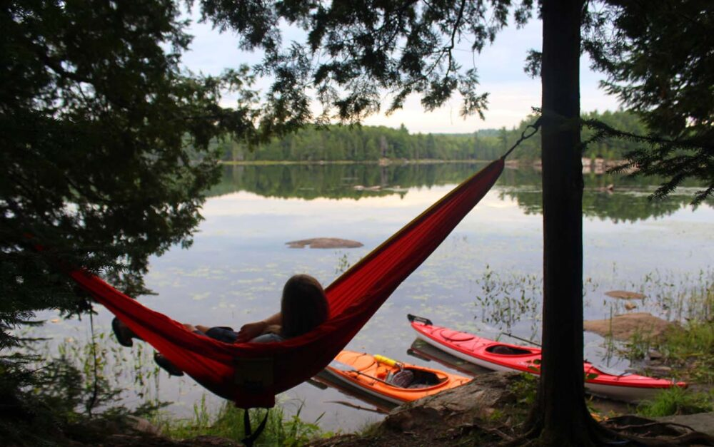 lac la peche quebec hammock gatineau valley