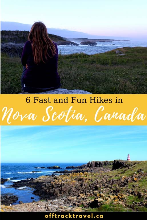 Planning to visit Nova Scotia and love hiking? You're in luck, there are dozens of beautiful day hikes to explore! We spent seven weeks finding the best - here are our favourites! offtracktravel.ca