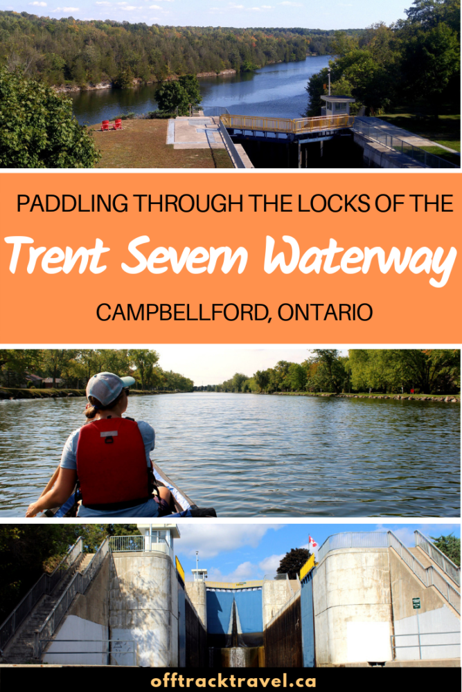 Ever looked at a lock system and wondered whether you can paddle through it in a canoe or kayak? Well, on the Trent Severn Waterway in Ontario, you can! Click here to learn everything you need to know about planning a paddling trip on the Trent Severn, with a focus on the friendly community of Campbellford. offtracktravel.ca