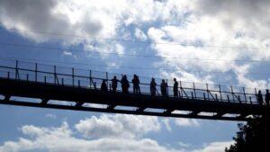 ranney gorge suspension bridge campbellford