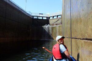 going up locks 11 12 campbellton trent severn waterway