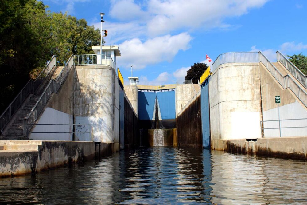 locks 11 12 trent severn waterway ontario