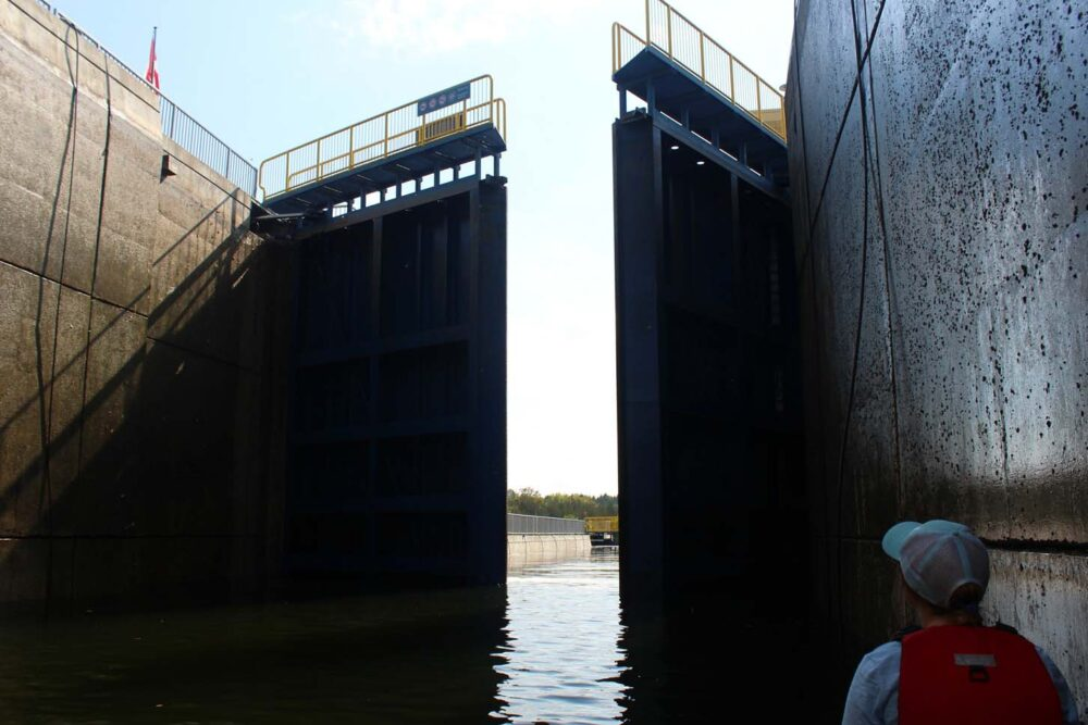 locks opening trent severn waterway ontario