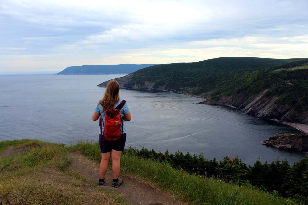 Panoramic ocean views from the Meat Cove lookout, one of Nova Scotia's best day hikes